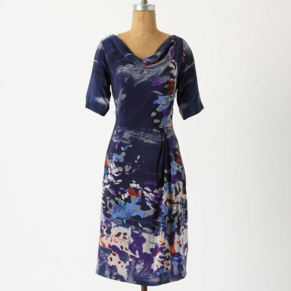 Anthropologie Dresses & Skirts - Anthropologie Japonica Silk Dress